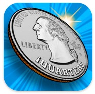 コインをコップに投げ入れるiPhoneゲーム「iQUARTERS」