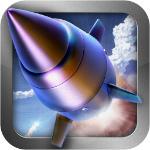 ミサイルを撃ち込みまくるiPhoneアプリ!単純な内容だけど盛り上がる「AR Missile」