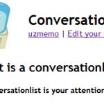 Twitterのタイムラインを濃縮したいときはConversationListを使おう
