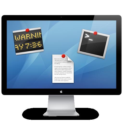 Macのデスクトップカスタマイズの定番!『GeekTool』を使ってMacをギークっぽくカスタマイズ!