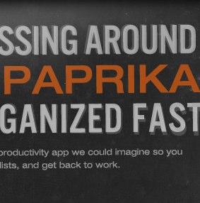 "TaskPaperと同機能?いやもっと高機能なオンラインメモツール""Paprika""を発見"