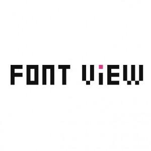 自分のPCに入っているフォントを一覧してプレビューできる『FONT VIEW』