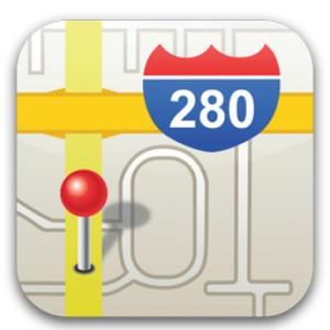 iOS6でWeb版Googleマップをフルスクリーン表示するメリットとデメリット