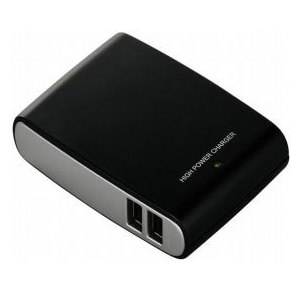 75%OFF。USB充電アダプタをタコ足配線することでガジェットの電源周りを減量。