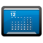 Macのデスクトップ上にカレンダーを重ねて表示する「Desktop Calendar Plus」がカレンダーの予定表示に対応して超カッコイイ!