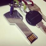 鍵型でおしゃれなUSBメモリ、iamaKey(16GB)を購入
