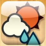 iPhoneアプリ「ウェザーニュースタッチ」の会員登録が面倒なので、予報が見やすい「おてがるお天気」に乗り換えました