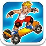 爽快感のある横スクロールのスケボーゲーム「Extreme Skater」が無料!|今週の無料App