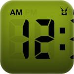 職場でもiPhoneを堂々とデスクに出しておける素敵な時計アプリ「LCD Clock Lite」