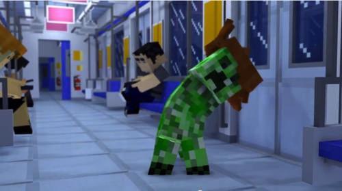 Gangnamstyle minecraft 1