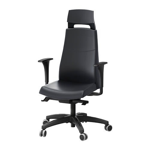 Volmar swivel chair w headrest armrests 0133029 PE288094 S4