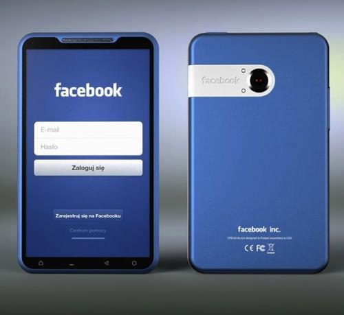 Facebook phone concept1
