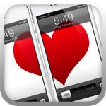 リア充専用のiPhone壁紙作成アプリ「Love Lock Screens」