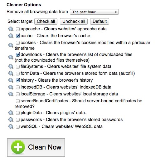 OneClick Cleaner 1