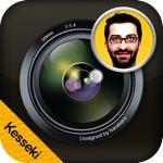集合写真の欠席者みたいな感じの枠を追加できるiPhoneアプリ「欠席カメラ」が面白いよ!