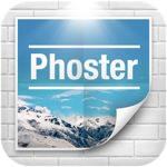 テンプレートから自分好みのポスターがデザイン出来る「Phoster」が今週の無料Appに登場!