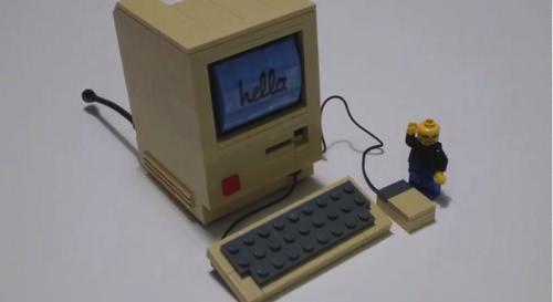 Lego Macintosh 3