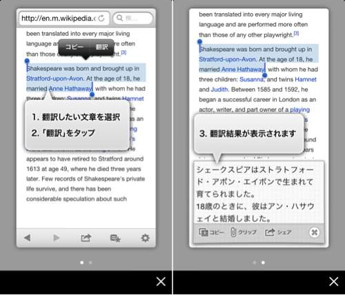 Translated browser 1