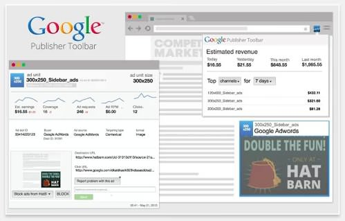 Google publisher toolbar v4 3