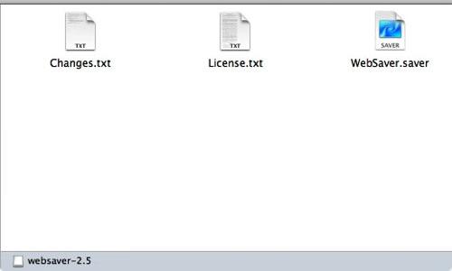 Macapp websaver 4