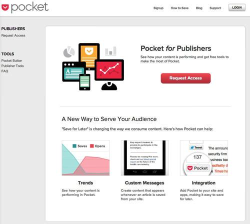 Pocket for Publishers 1