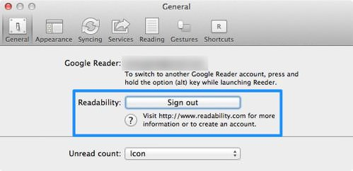 Googlereader reeder 4tps 5