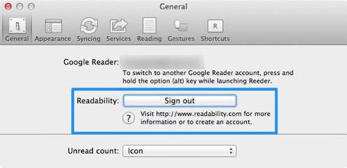 Googlereader reeder 4tps 5