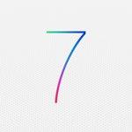 iOS 7のロゴが明らかに!新しいロゴの壁紙も!