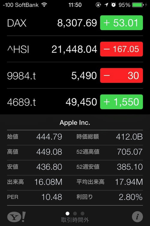 IOS7 StockPrice 2