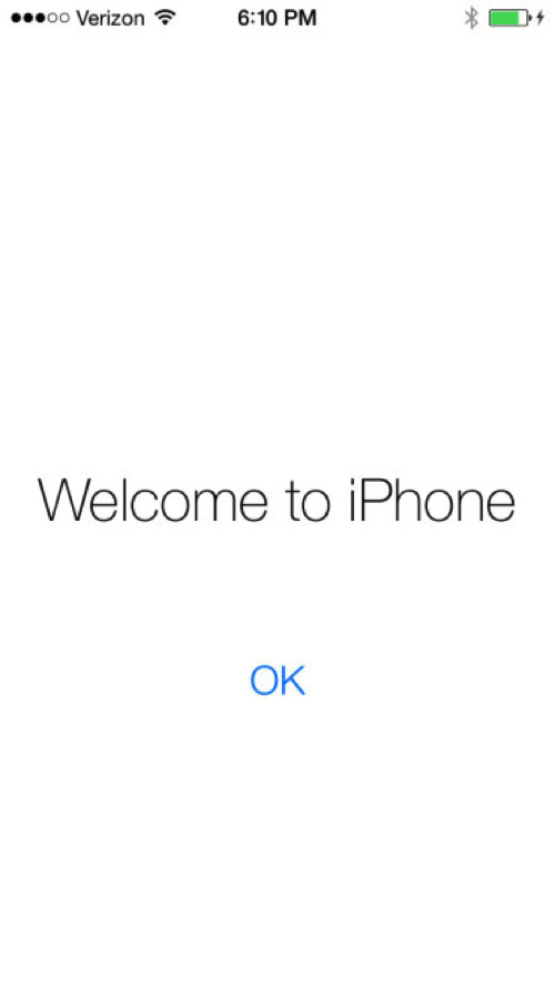 IOS7 Wellcome