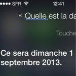 iOS 7 beta のSiriがiOS 7のリリース日を発表?