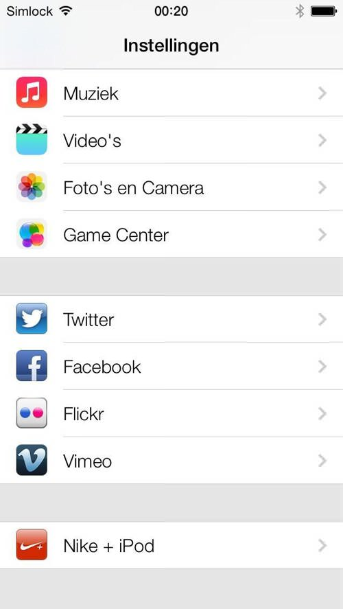 Ios7 flickr vimeo 2