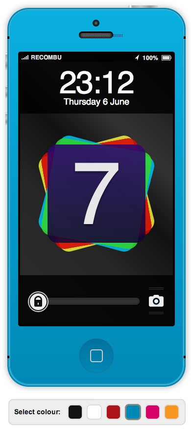 Ios7 html5 mock up 2