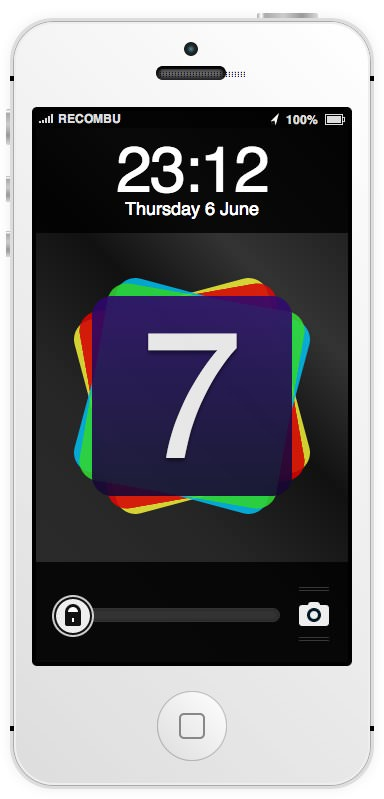 Ios7 html5 mock up 3
