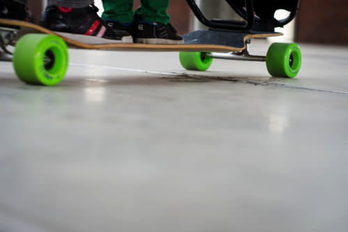 Longboardstroller 1