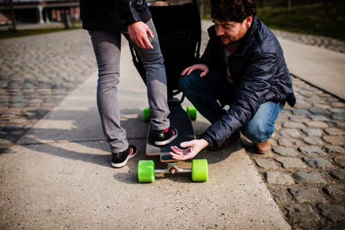 Longboardstroller 5