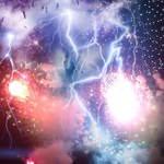 隅田川の花火がヤバかったと花火と雷が一緒に写っている画像がTwitterで話題