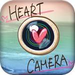 自動デコレーション機能が付いた無料の写真デコレーションアプリ「My Heart Camera」