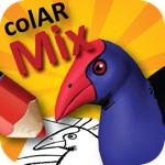 塗り絵に色を塗ってiPhoneをかざすと塗り絵が動き出す!「colAR Mix」が凄いと話題!