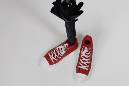 Goods sneaker umbrella stand 3