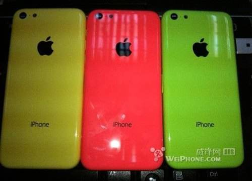 IPhone Couleurs Plastique 01
