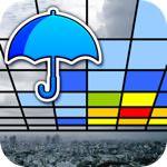 ゲリラ豪雨が来る方角がわかる!「Go雨!探知機」あれば自分の周辺の雨量をARで表示!