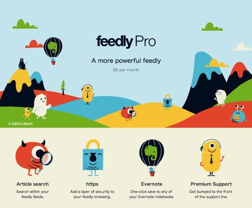 Webservice feedly pro 1