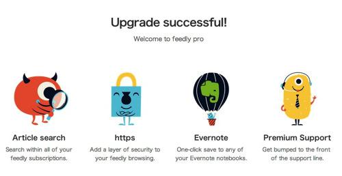 Webservice feedly pro 3
