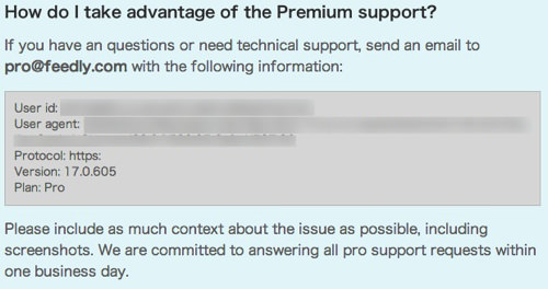 Webservice feedly pro 7