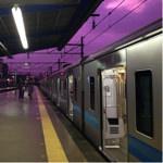 江ノ島駅から見える空がラスボスに占拠された色になっていると話題