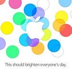 iPhone5S/5C(仮)の発表イベントは9月10日、日本では11日午前2時から!