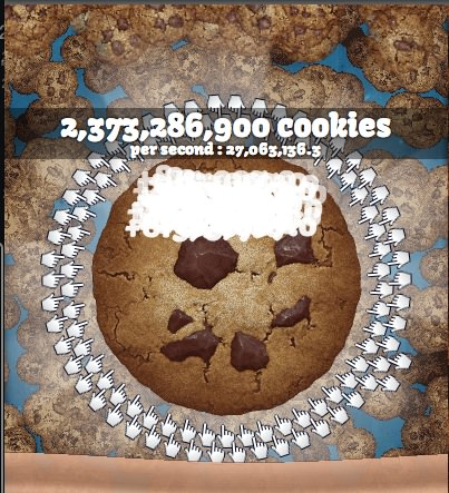 Cookie clicker cheet 1