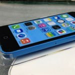 iPhone5C(ブルー)でiOS7が動いている動画が流出?!