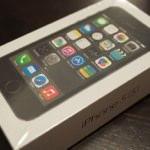 iPhone 5s購入!スペースグレイは華やかではないけど渋くてカッコいい!